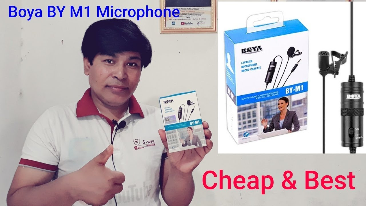 Cheap and Best Microphone For YouTubers – Boya BY M1 Lavalier Mic – Unboxing & Review [in Nepali]