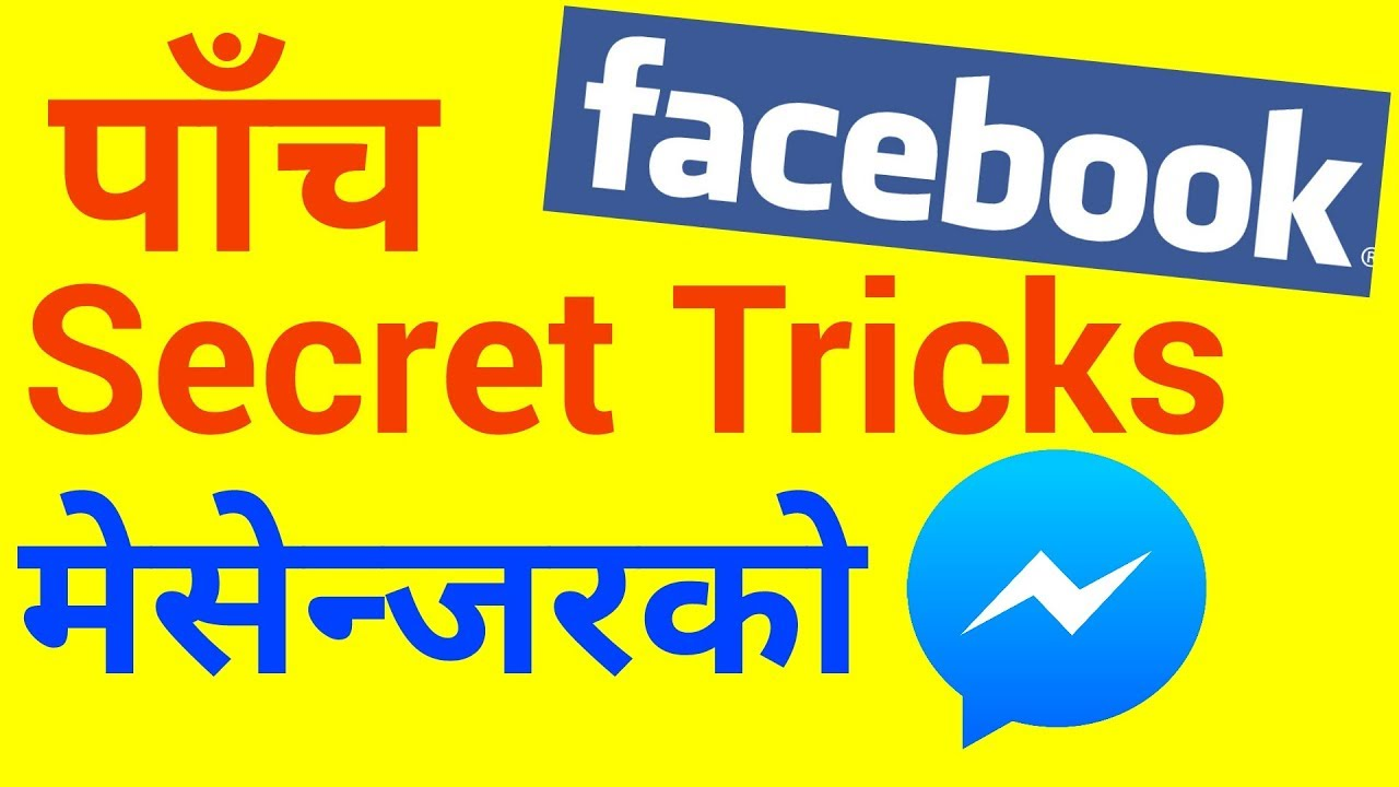 5 Wonderful Messenger Secret Tricks For Us To Know In Nepali Onic Computer