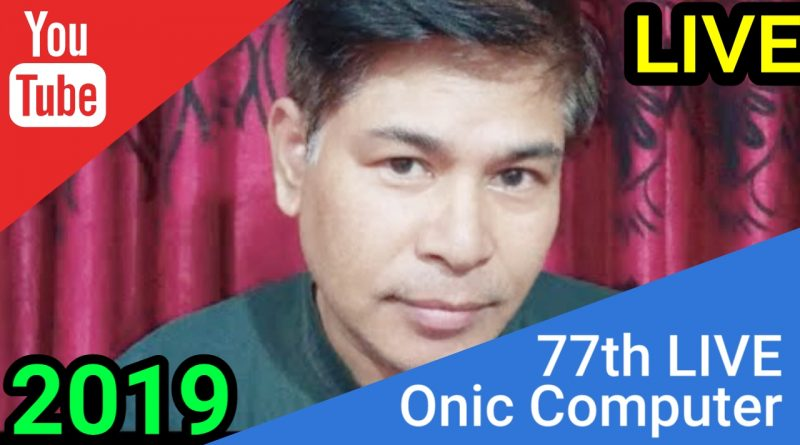 77th Saturday Tech Talks ! LIVE By Onic Computer