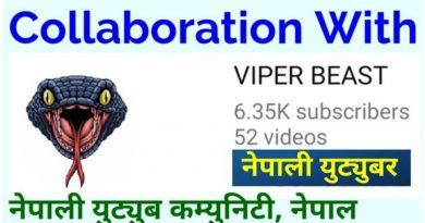[In Nepali] Collaboration With Viper Beast YouTube Channel | नेपाली युट्युबरहरुको भेटघटमा