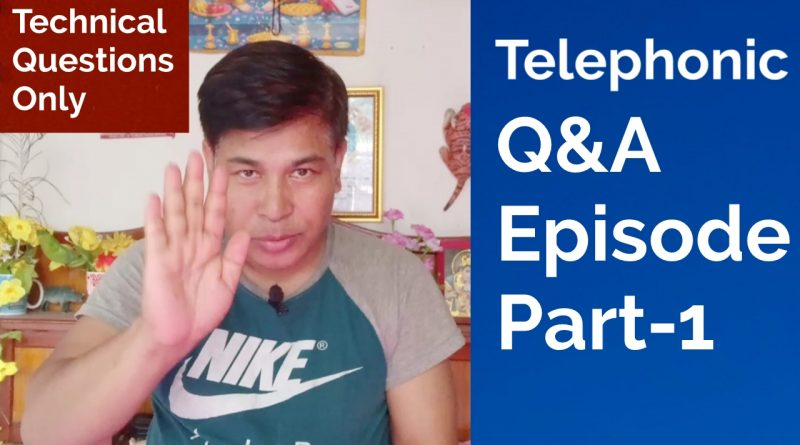 [In Nepali] Telephonic Technical Q&A Episode Part – 1 (One) | AskOnicAgyat